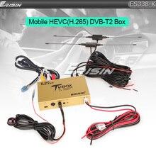 Erisin ES338-KB автомобильный мобильный цифровой HDTV DVB-T2 приемник HEVC H.265 H.264 HDMI USB