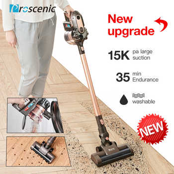 Proscenic P8 plus Ultra Quiet Vacuum Cleaner Upright  Vertical/HandHeld Vacuum Cleaners Aspirator 15000Pa Strong Power For Home - DISCOUNT ITEM  60% OFF All Category