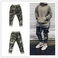 KMO urban clothingfashion singer  mens jumpsuit harem camo fog side zipper pants joggers military army sweatpants camouflage
