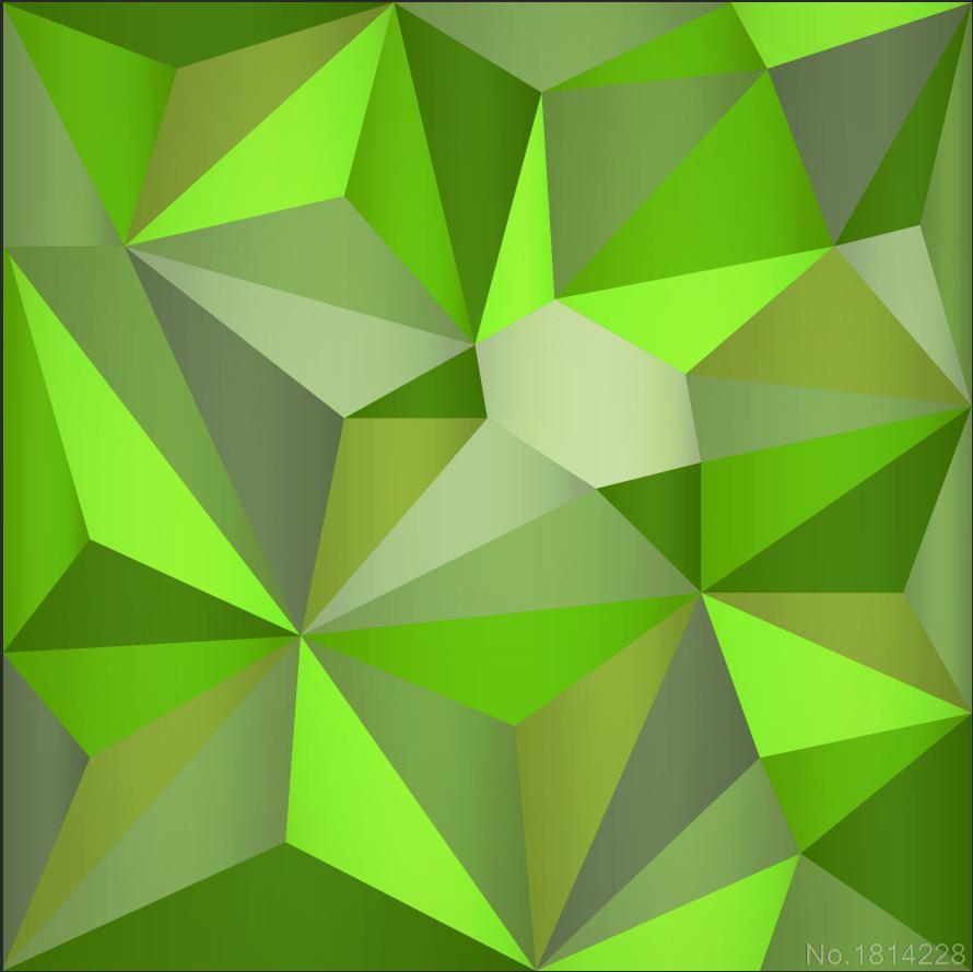 Geometry Green Geometric Wallpaper Wwwpicsbudcom