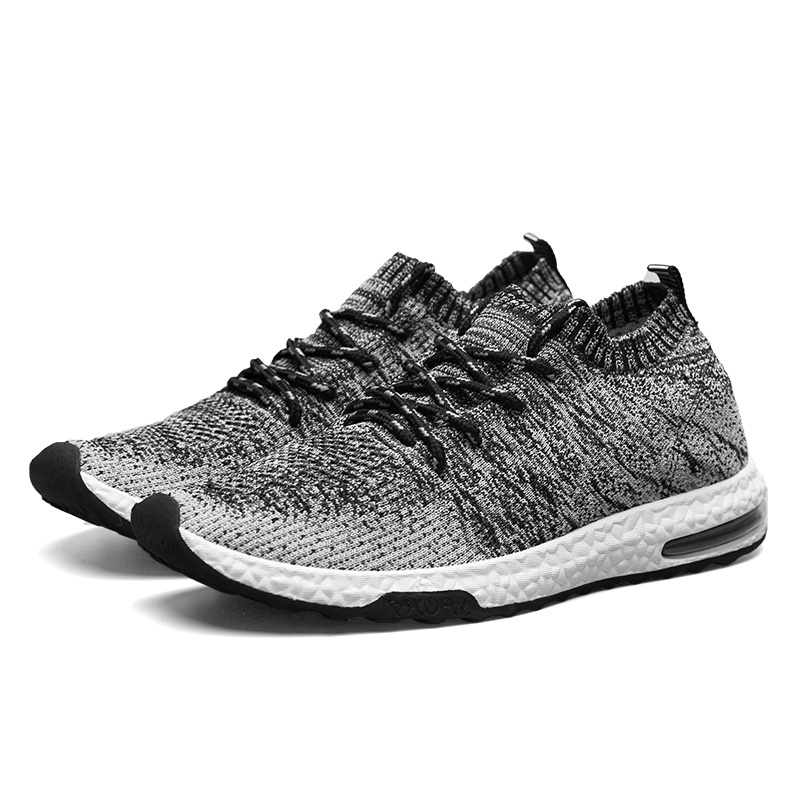 super popular 66008 a8854 US $12.59 49% OFF|Running Shoes Men Trainers Breathable Men Gym Shoes 2019  Summer Boys Athletic Shoes Gray/Orange Mens Designer Sneakers-in Running ...