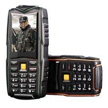 MAFAM M18 IP67 Wasserdichte 8800 mAh Drei Sim-karten Dual-bands Bluetooth Fackel Lange Standby Power Bank Robustes Telefon P126