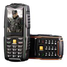 MAFAM M18 IP67 Étanche 8800 mAh Trois Cartes SIM Double-bandes Bluetooth Torche Longue Veille Puissance Banque Robuste Téléphone P126