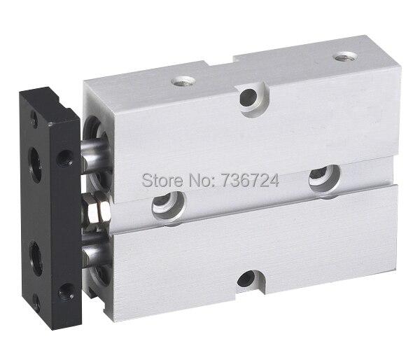 цена на bore 10mm*80mm stroke Double-shaft Cylinder TN series pneumatic cylinder