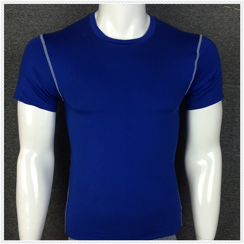 A18396 Men High-Quality DIY T-Shirt Running Quick-drying Basketball Sports Gym Clothing Fast Drying Clothes Short-sleevedA18396 Men High-Quality DIY T-Shirt Running Quick-drying Basketball Sports Gym Clothing Fast Drying Clothes Short-sleeved