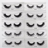 Visofree   Eyelashes   3D Mink Lashes natural handmade lashes long soft   false     eyelashes   High Volume Cruelty Free Mink lashes D101