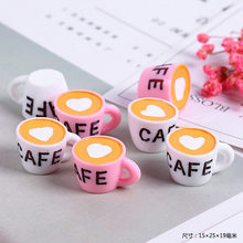New Addition Slime Charms for Lizun Slime Supplies Filler DIY Polymer Cute Coffee Cup Accessories Toy Model for Kids Toys Gift M(China)