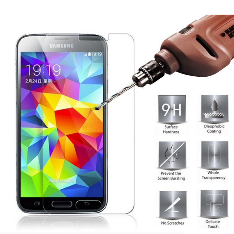 Tempered Glass for Samsung Galaxy S5 Mini Screen Protector Protective Film, Mobile Phone for Samsung Galaxy S5