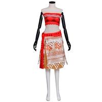 Moana Dress Cosplay Costume Moana Waialiki Adult Women Cosplay Princess Dress For Halloween Festival Clothing Custom
