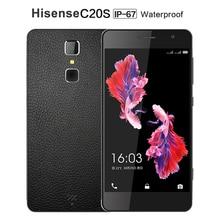 Original hisense c20s wasserdichte telefon 4g lte ip67 octa-core Smartphone 5 zoll 13MP 3 GB RAM 32 GB ROM Handy Fingerabdruck C20