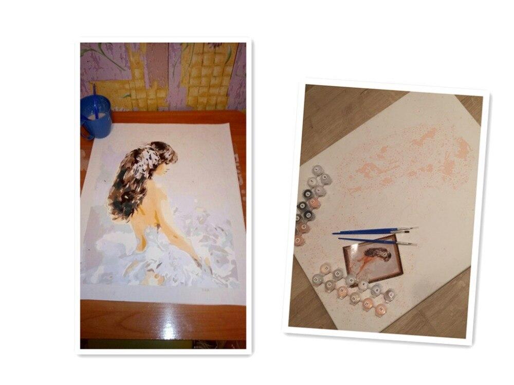 Ζωγραφική με Αριθμούς DIY Ψηφιακή Λάδι - Διακόσμηση σπιτιού - Φωτογραφία 2