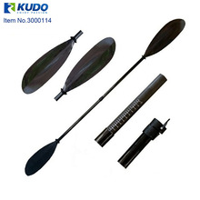 2-pieces Leisure-Line Light Carbon Fiber Kayak Paddle with Free Bag
