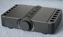 Nowy Aavik aluminiowe złącze amp obudowa/domowe audio obudowa wzmacniacza (rozmiar 430*90*300 MM)