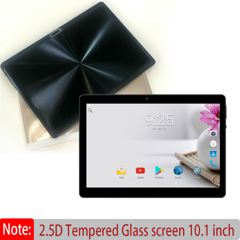 BOBARRY Tablet PC 10 Inch Android 8.0 Octa Core Dual SIM Card WIFI GPS 2.5D Tempered Glass IPS RAM 4GB ROM 32GB 64GB 128G Tablet