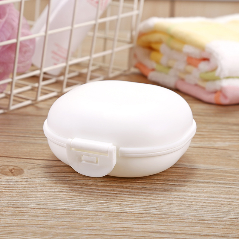 1 шт., чехол для посуды для ванной комнаты, для домашнего душа, путешествий, туризма, держатель, контейнер, мыльница с крышкой, zeepbakje porte savon, держатель для мыла