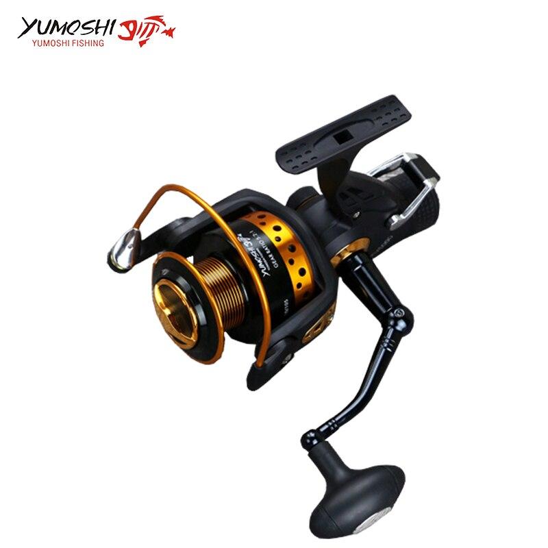 Spinning reel fishing 13 1 bearing balls 5 2 1 fishing reel durable metal left right