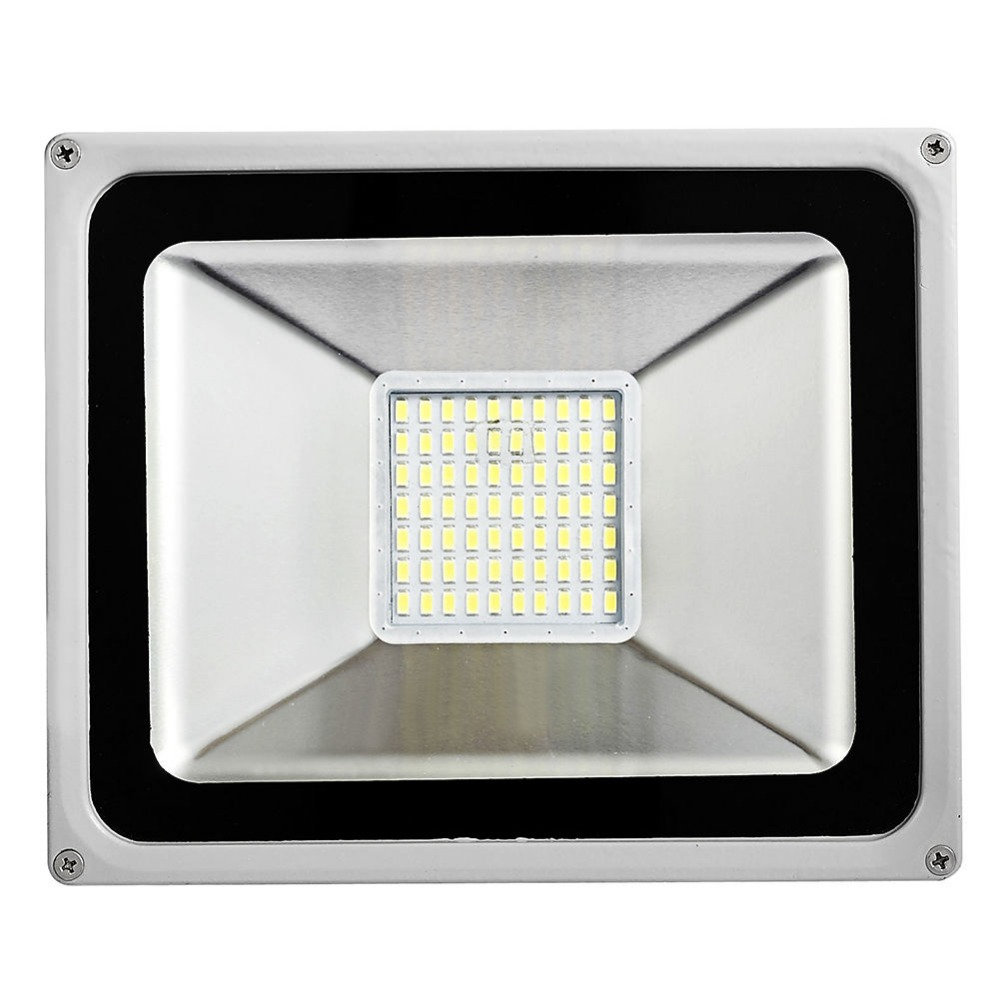 LED Flood Light Ultra Thin 50W 220-240V 5500LM IP65 Waterproof LED SMD5730 Led Spotlight For Outdoor Garden Light Floodlight
