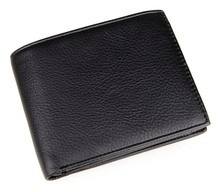 Free Shipping High Quality 100% Real Cow Leather Wallet For Men Minimalist Credit Card Holder # 8084A