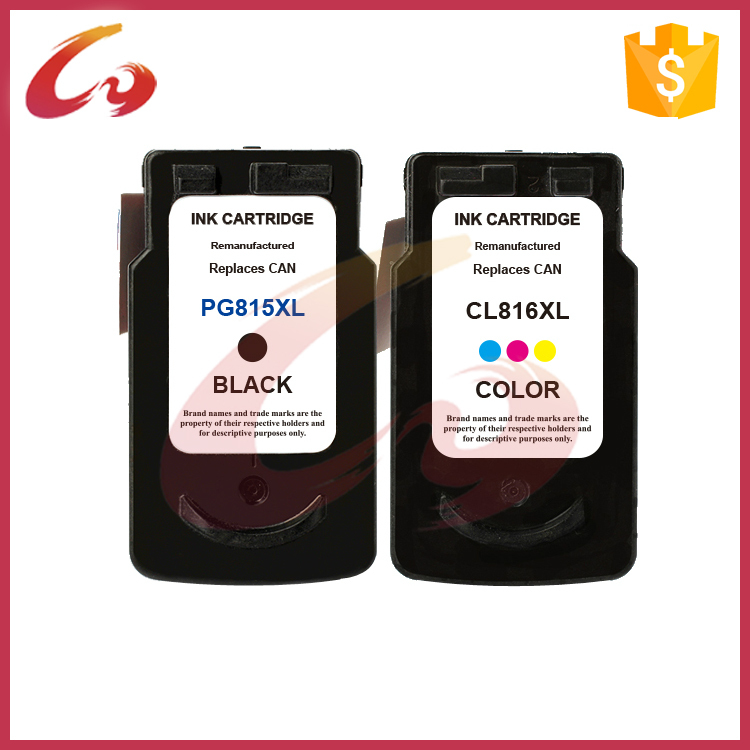 ФОТО free shipping 1 set  PG815 CL816 INK cartridge compatible for ink cartridge for canon pixma ip2780