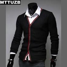MTTUZB New fashion man casual slim sweaters men's spring autumn outwear man knitwear costume male cardigan M L XL XXL