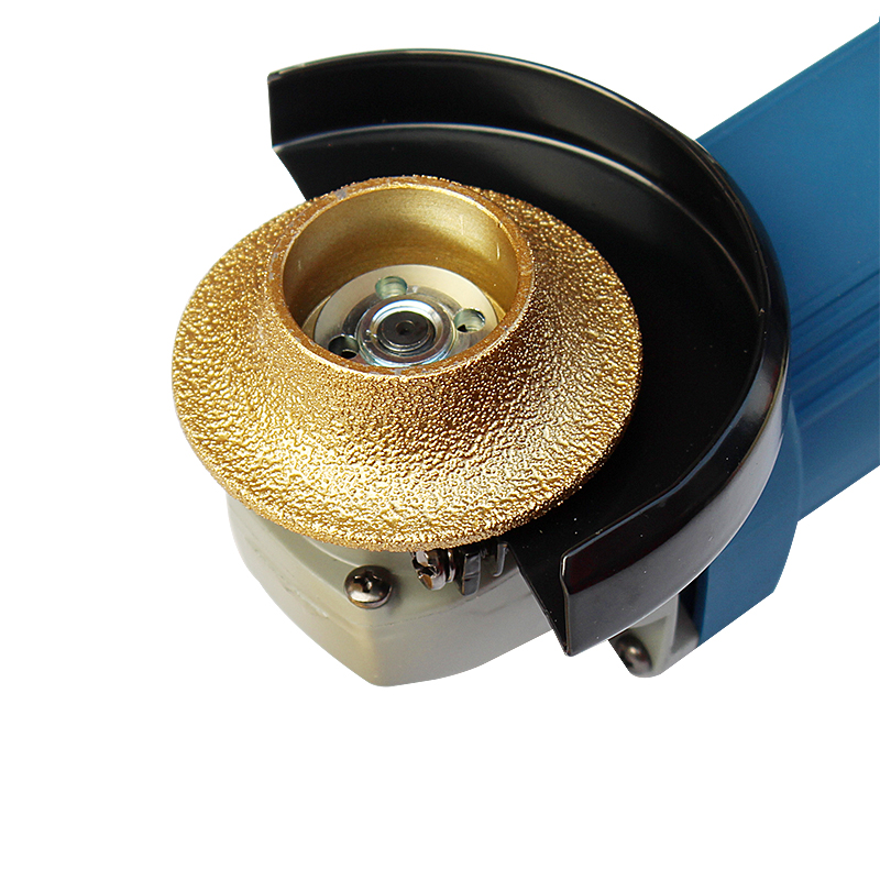 French Side Grinding Head Angle Grinder Grinding Disc Diamond Polished Stone Stone Round  Knife Knife Cloud Marble
