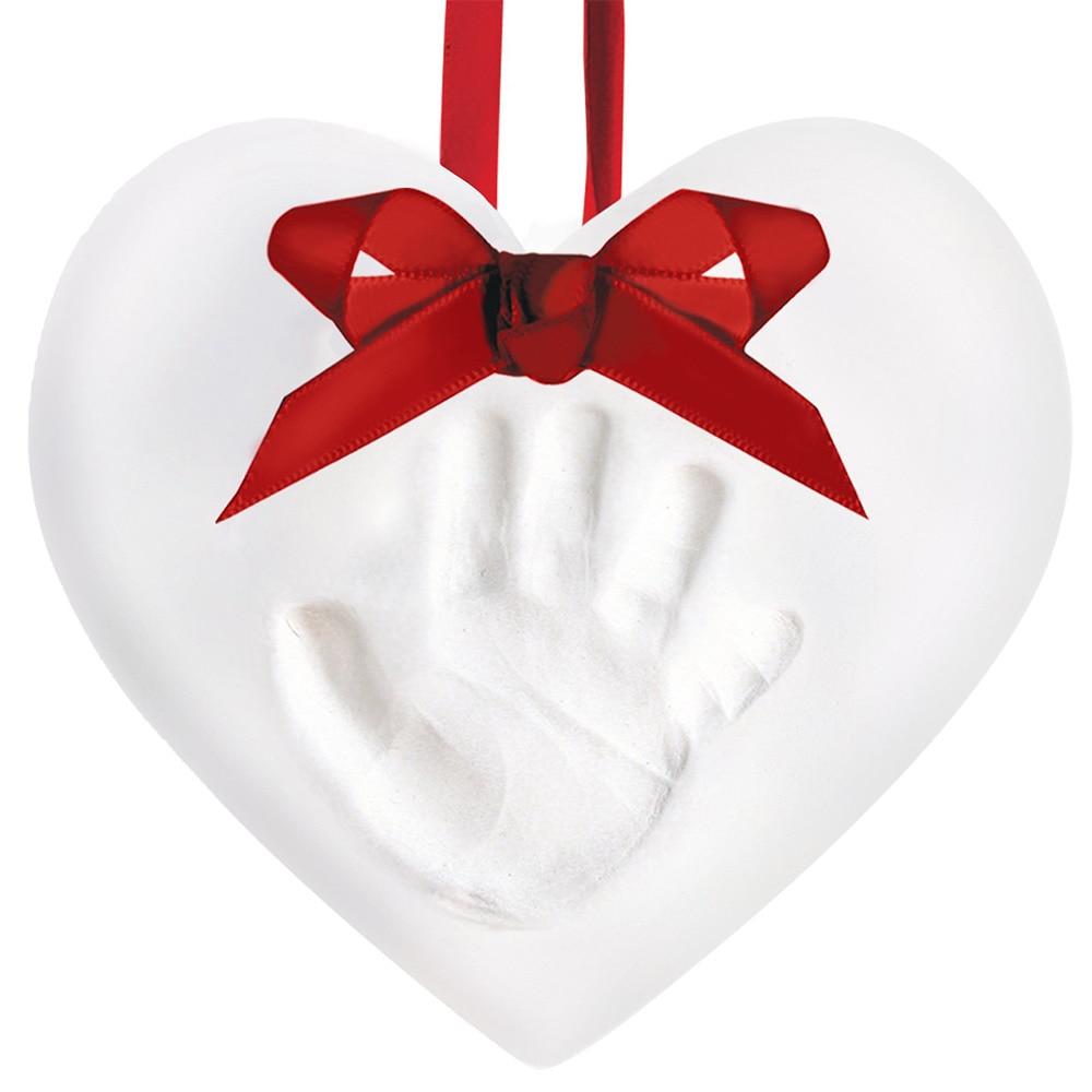 Bébé main et pied imprimer moule pour bébé poudre plâtre Kit de moulage empreinte de main souvenir cadeau bébé croissance Memorial