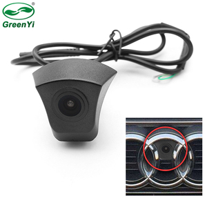Image 1 - CCD HD Night Vision Front View Camera For Audi Forward Logo Camera As For Audi A1 A3 A4 A5 A6 A7 Q3 Q5 Q7 TT Front Camera