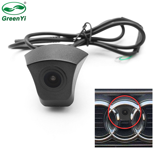 CCD HD Night Vision Front View Camera For Audi Forward Logo Camera As For Audi A1 A3 A4 A5 A6 A7 Q3 Q5 Q7 TT Front Camera
