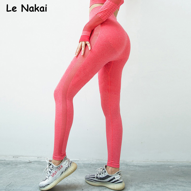 High waist seamless leggings sport women fitness yoga legging thick fabric gym legging workout sport leggings athletic tights