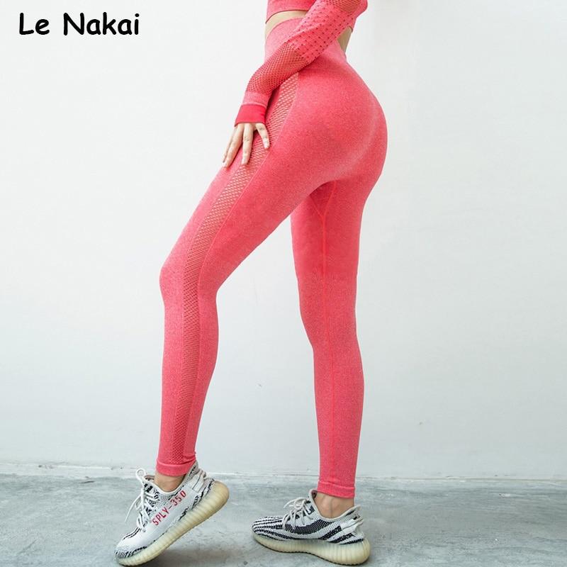 High waist seamless leggings sport women fitness yoga legging thick fabric gym legging workout sport leggings athletic tights