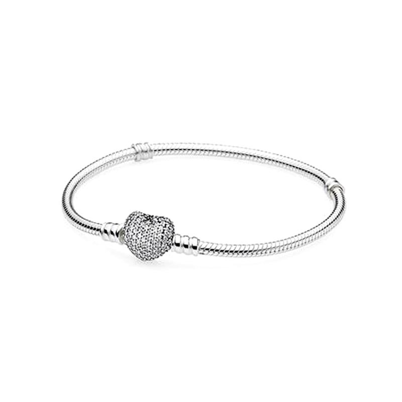 Classique Chaîne Serpent BRICOLAGE Bracelet charms argent 925 d'origine 2018 Bracelets Bracelets Bijoux pour Femmes Filles.
