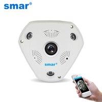 Smar HD 960P WIFI Wireless IP Camera H 264 Smart 360 Degree Panoramic VR CCTV Security