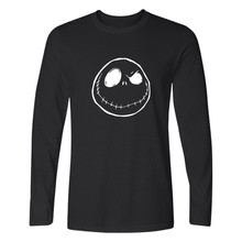 The Nightmare Before Christmas T-shirt Many Funny Style Top Brand Long Sleeve Tees Cospaly Casual Clothing