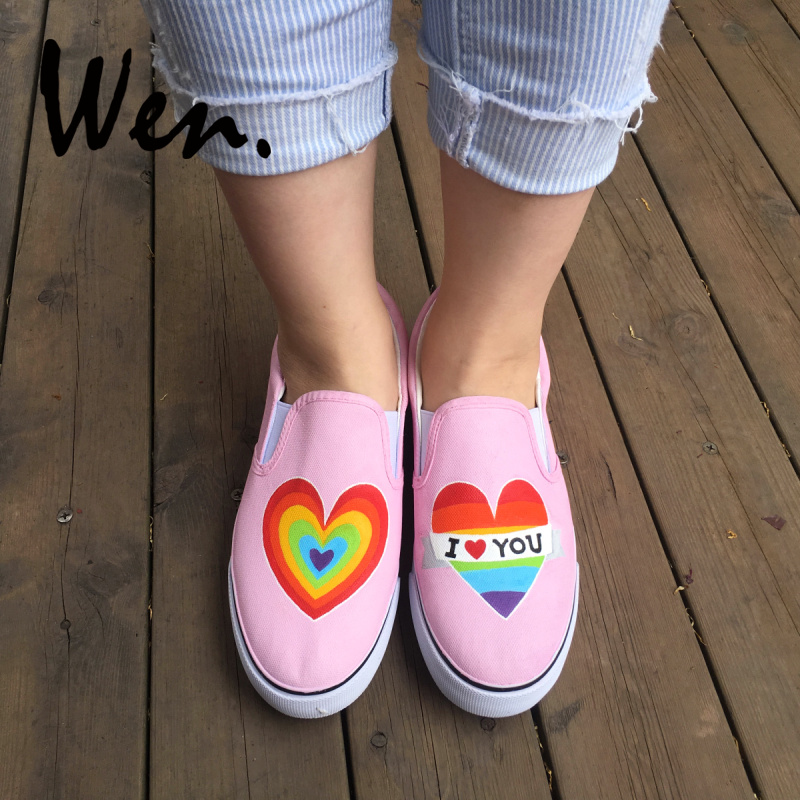 Womens Girls Multi Color Rainbow High Top Sneakers Boots Canvas ankle boots