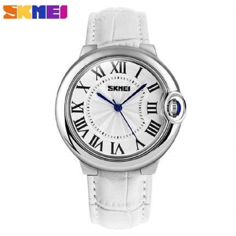 SKMEI 2017 Fashion Wrist Watch Women Watches Ladies Luxury Brand Famous Quartz Watch Female Clock Relogio Feminino Montre Femme 2018 shengke fashion famous brand watch women top femme female clock leather ladies wrist watch montre femme relogio feminino sk