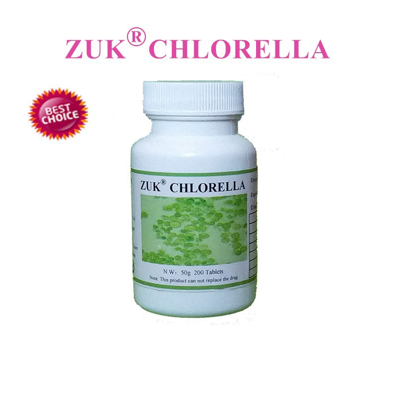 1 Pack Natural Chlorella Vulgaris Tablets  Rich Of Chlorophyll, Protein Free Shipping.