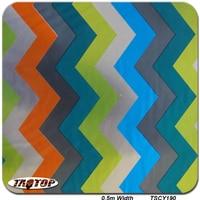 TATY190 0.5m 10m New Colorful Pattern Liquid Image Film Hydrographic Film Water Transfer Printing Film
