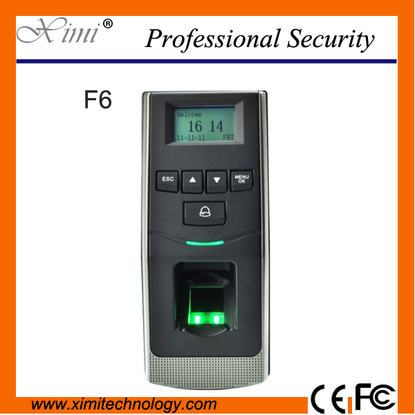 цена Free Shipping F6 Biometric Door Lock TCP/IP Communication Fingerprint Access Control Door Access Control System