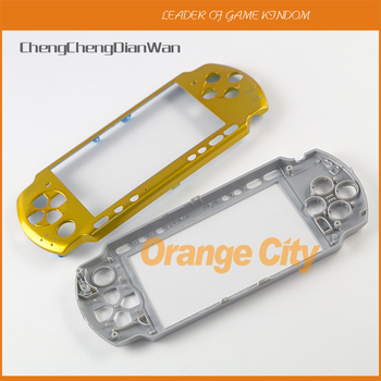 30pcs/lot New Housing upper top Front Faceplate For PSP3000 Case Shell Cover With Logo For PSP 3000