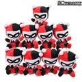 10 unids/set DC Batman Harley Quinn Payaso Colgante de la Felpa Juguetes de Peluche Muñecas Brinquedos Juguetes Para Bebés