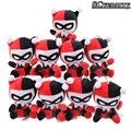 10pcs/set DC Batman Clown Harley Quinn Plush Pendant Toys Stuffed Dolls Brinquedos Baby Toys