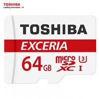 TOSHIBA U3 Memory Card 128GB 64GB SDXC Max UP 90MB S Micro SD Card Class10 With