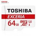 TOSHIBA U3 Карты Памяти 128 ГБ 64 ГБ Макс ДО 90 МБ/с. Карта Micro Sd Class10 SDXC С Адаптером Официальная Проверка