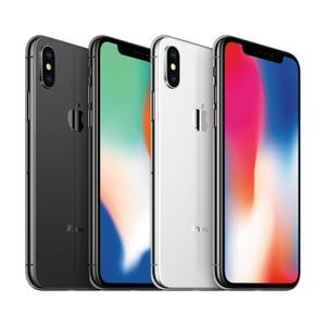 Image 5 - هاتف ابل ايفون اكس الاصلي ID 3GB RAM 64GB/256GB ROM 5.8 inch 12MP Hexa Core iOS A11 كاميرا خلفية مزدوجة 4G LTE اي فون X