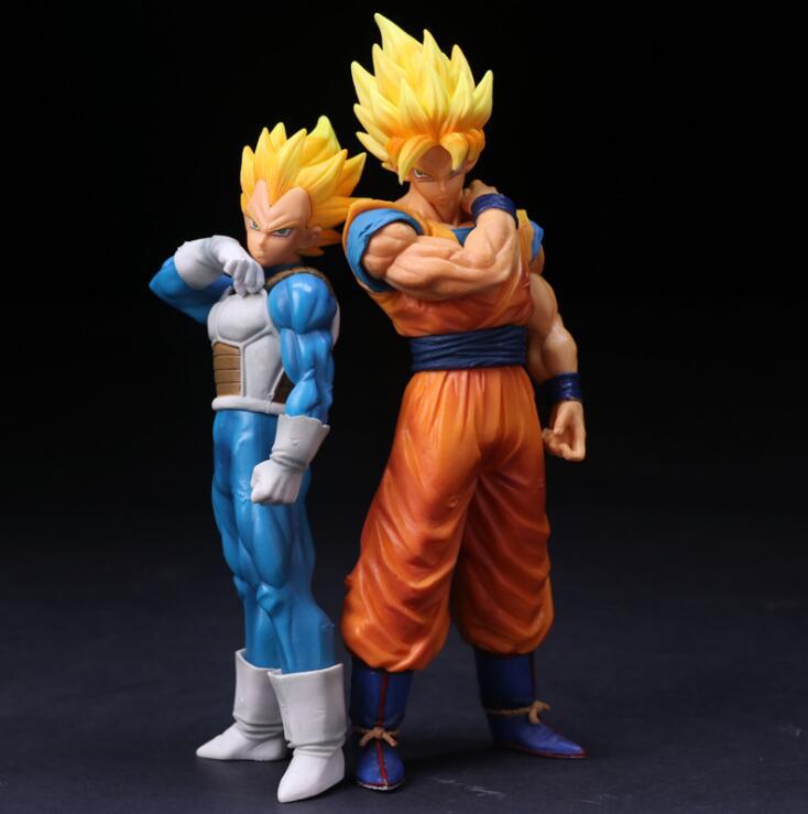 Dragon Ball Z Super Saiyan Goku Vegeta PVC Action Figure Anime Collection Model