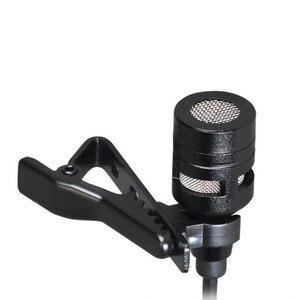 Image 3 - ميكروفون صغير لطية صدر السترة برأسين مشبك تسجيل على ميكروفون ملغي للضوضاء لهاتف iPhone iPad وسامسونج اللوحي