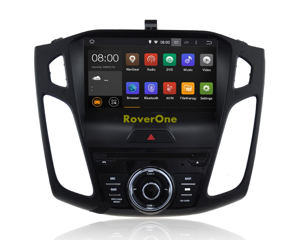 For Ford For Focus 2015 2016 2017 Quad Core Android 8.1 Autoradio Car DVD Player Radio Stereo GPS Navigation Multimedia System