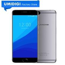 Оригинальный umidigi C Примечание MTK MT6737T quad-core 1.5 ГГц отпечатков пальцев ID сотовый телефон Android 7.0 5.5 дюймов 3800 мАч мобильного телефона