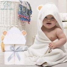 Высококачественное детское полотенце, Набор детских мочалок из органического бамбука, детское банное полотенце, очень мягкое и плотное полотенце с капюшоном для новорожденных, Детская мочалка