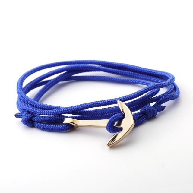 Men's Anchor Design Multilayer Bracelet 3